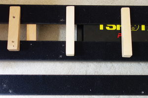 Pedal board under construction