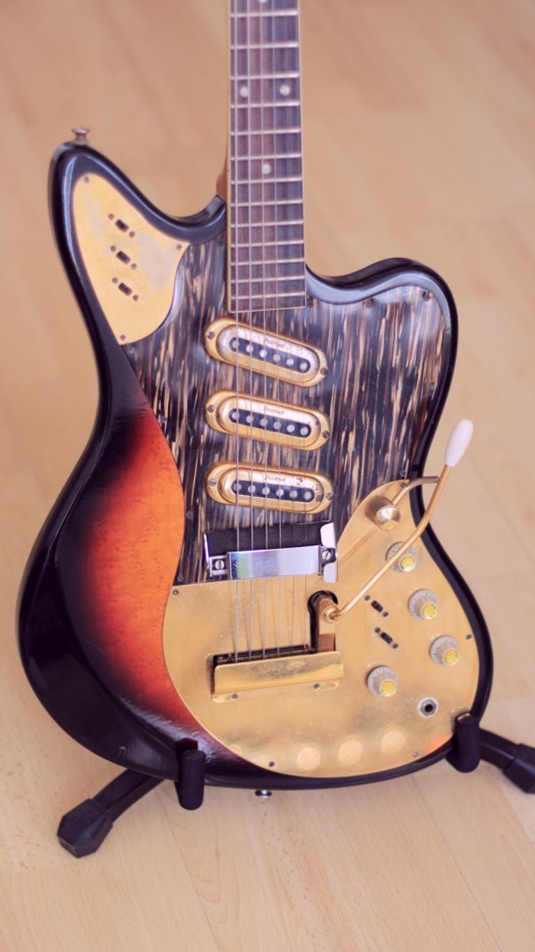 Framus Golden Strato de Luxe – 1960s vintage guitar body