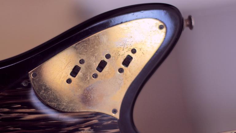 Framus Golden Strato de Luxe – 1960s vintage guitar pick-up switches