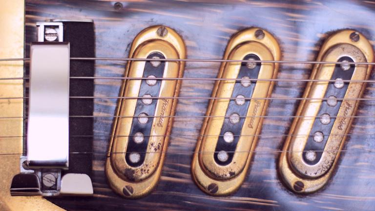 Framus Golden Strato de Luxe – 1960s vintage guitar pickups