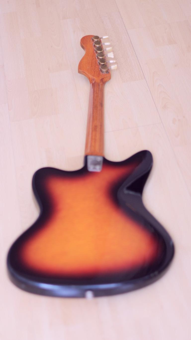 Framus Golden Strato de Luxe – 1960s vintage guitar
